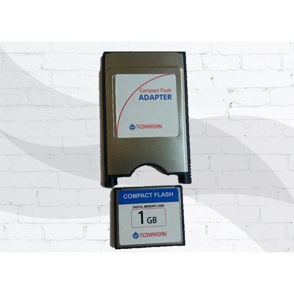 1 GB Flash Kart ve Adaptör (Set)